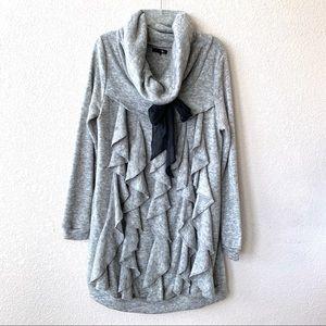 Ryu Long Sleeve Ruffle Sweater Dress